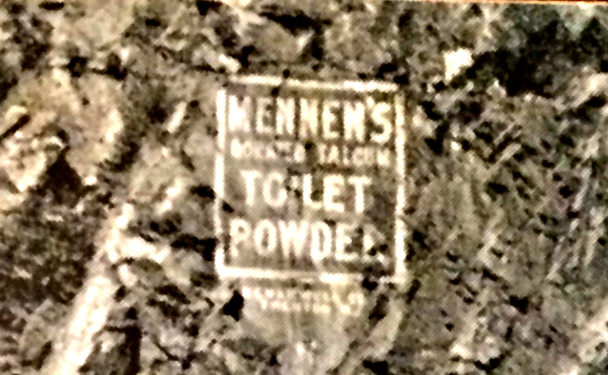 ToiletPowder sign detail